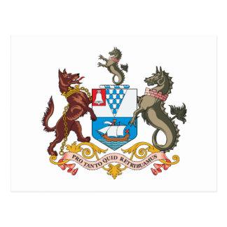 Belfast Coat of Arms Postcard