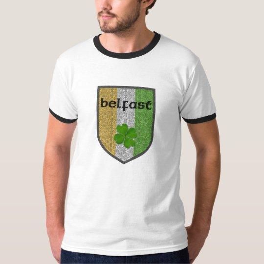 Belfast Ireland Mens Ringer T-Shirt