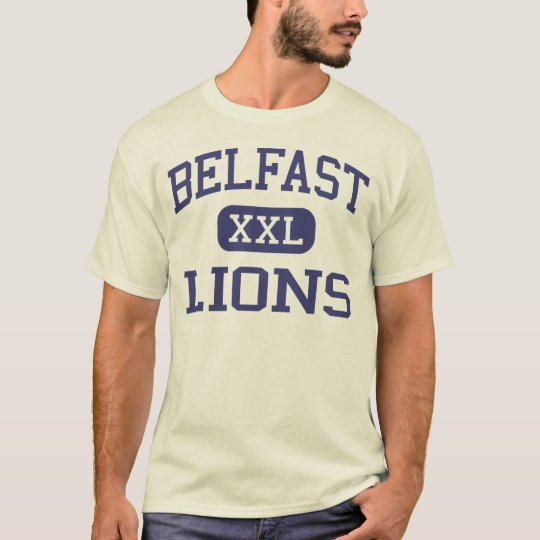Belfast - Lions - Area High School - Belfast Maine T-Shirt