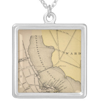 Belfast, Maine Silver Plated Necklace