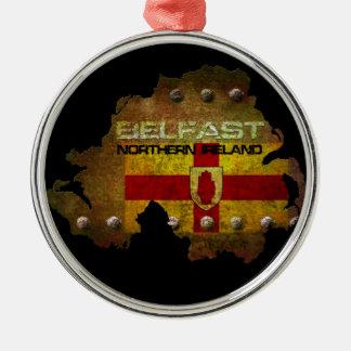 Belfast Northern Ireland Christmas Ornament