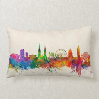 Belfast Northern Ireland Skyline Lumbar Cushion