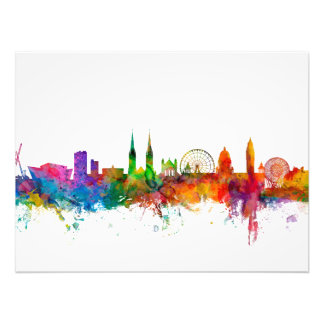 Belfast Northern Ireland Skyline Photo Print