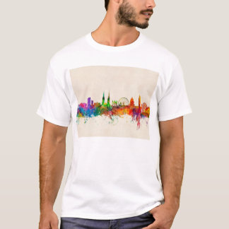 Belfast Northern Ireland Skyline T-Shirt
