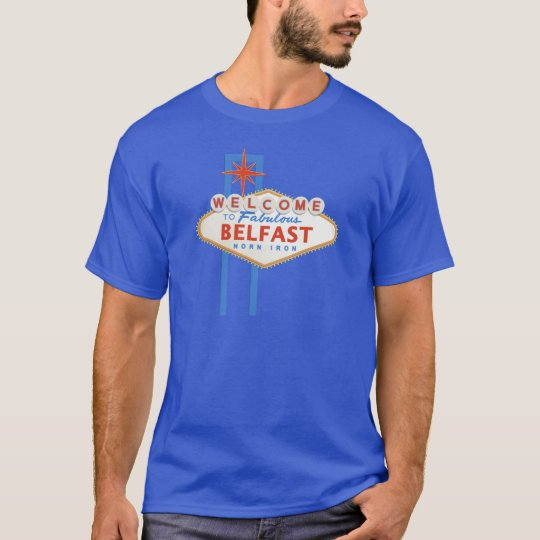 Belfast - Vegas sign T-Shirt
