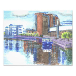 Belfast Waterfront Photo Print