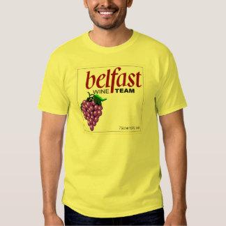 Belfast Wine Team Tshirt