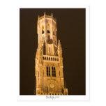 Belfry in Bruges Postcards
