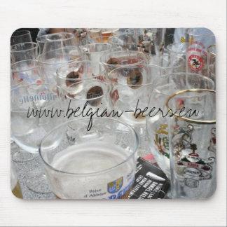 Belgian Beers Mousepad