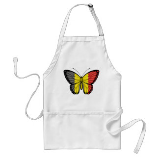 Belgian Butterfly Flag Aprons