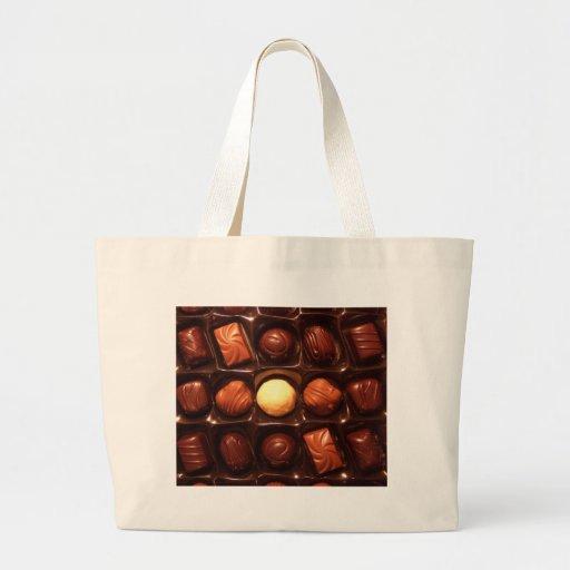 BELGIAN CHOCOLATES JUMBO TOTE BAG