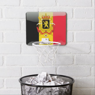 Belgian Coat of arms Mini Basketball Hoop