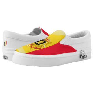 Belgian Coat of arms Slip-On Shoes