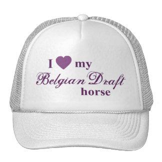 Belgian Draft horse Cap