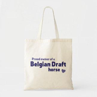 Belgian Draft horse Budget Tote Bag