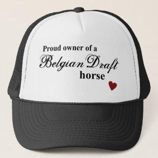 Belgian Draft horse Trucker Hat