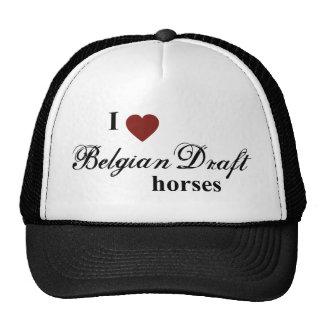 Belgian Draft horses Cap