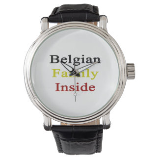 Belgian Family Inside Wrist Watches