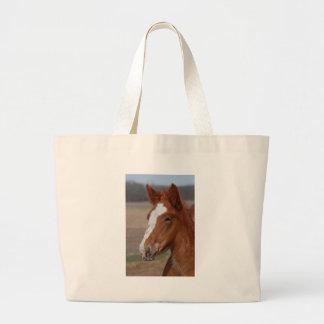 Belgian filly tote bag
