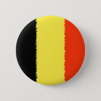 Belgian Flag 6 Cm Round Badge
