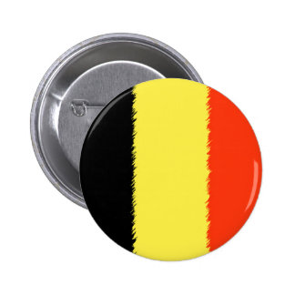 Belgian Flag 6 Cm Round Badge