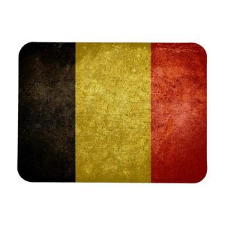 Belgian Flag Vinyl Magnets