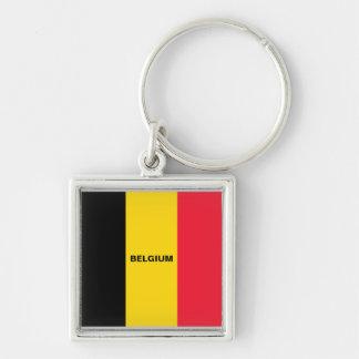 Belgian Flag keychain