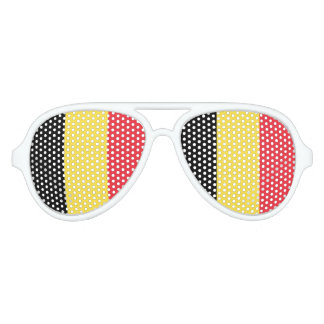 Belgian flag party shades | Belgium sunglasses