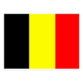 Belgian Flag Postcard
