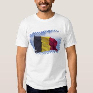 Belgian flag RF) T-shirt