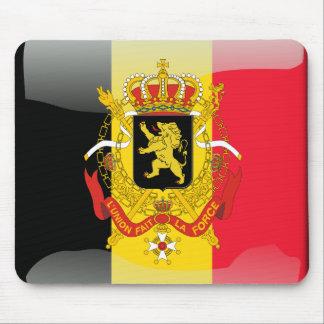 Belgian glossy flag mouse mat