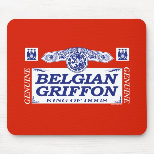 Belgian Griffon Mouse Pad
