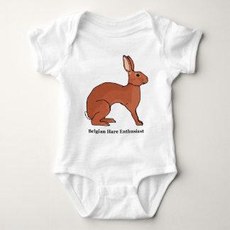 Belgian Hare Enthusiast Baby Bodysuit