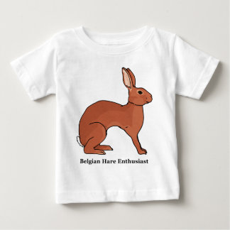 Belgian Hare Enthusiast Baby T-Shirt