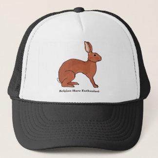 Belgian Hare Enthusiast Trucker Hat