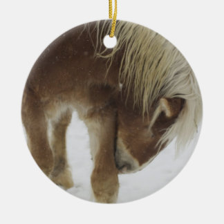 Belgian Horse Ornament