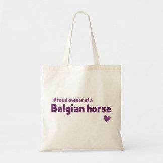 Belgian horse bag