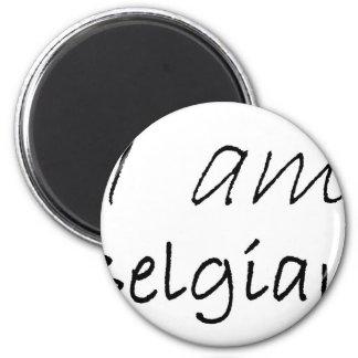 Belgian jpg fridge magnet