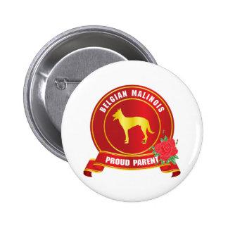 Belgian Malinois 6 Cm Round Badge