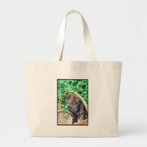 Belgian Malinois Canvas Bags