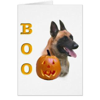 Belgian Malinois Boo Card