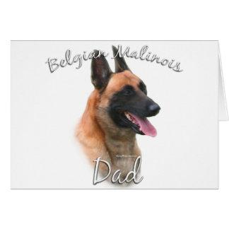 Belgian Malinois Dad 2 Cards