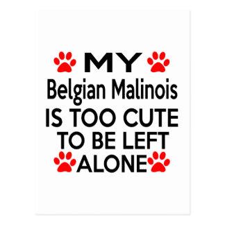 Belgian Malinois Designs Postcard
