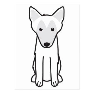 Belgian Malinois Dog Cartoon Postcard