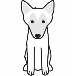 Belgian Malinois Dog Cartoon Standing Photo Sculpture