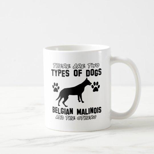 Belgian Malinois dog designs Coffee Mug
