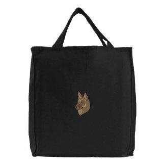 Belgian Malinois Embroidered Bag