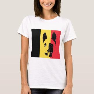 Belgian Malinois Flag Tee Shirt
