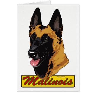 Belgian Malinois Greeting Card