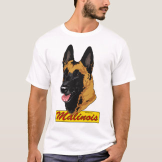 Belgian Malinois Headstudy T-Shirt
